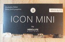 ICON MINI by Absolute New York Gold Glitz Palette Lidschatten - NEU - UNBENUTZT