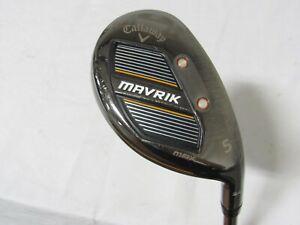 Used RH Callaway Mavrik MAX 24* 5 Hybrid - Regular Flex Graphite (HC)