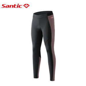 Women Cycling Pants Professional 4D Padded Reflective Tight Exercise Bike Pants