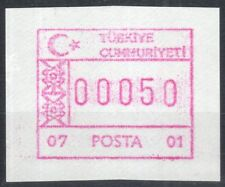Turkey * Türkei * Frama ATM 07-01 * Alanya * weißes Papier * MNH * Kiosk