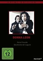 DONNA LEON: FEINE FREUNDE/DAS GESETZ DER LAGUNE DVD NEU