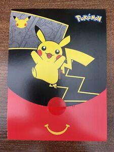 Pokemon McDonald's Toy 2021- Pikachu Brand New Unopened