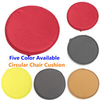 Round Soft Chair Cushion Seat Pads Removable Cover Mat Indoor Patio Office Home