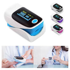 Fingertip Pulse Oximeter Oxygen Saturation Monitor Hd Large Screen Smart Device