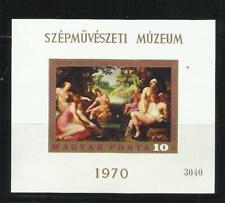 HUNGRIA . Año: 1970. Tema: ARTE, PINTURAS.