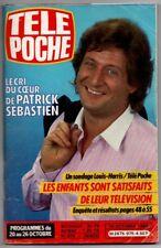 ▬►Télé Poche 975 (1984) PATRICK SEBASTIEN_STEFANIE POWERS_BEATLES_MARLÈNE JOBERT