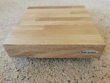 Bespoke Handmade Solid Oak - Hi-FI Isolation Platform - Plinth  400 x 300 x 40mm