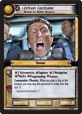 Star Trek CCG 2E TBG To Boldly Go Zefram Cochrane, Ready to make History 8R90
