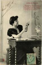 CPA Lettre de femme. A. BERGERET (674829)