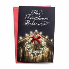 DaySpring This Farmhouse Believes - 18 Premium Christmas Boxed Cards