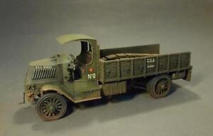 JOHN JENKINS DESIGNS WW1 THE GREAT WAR GWUS-01 MACK AC BULLDOG TRUCK MIB