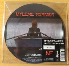 "Mylene Farmer 45 Tours vinyle picture disc ""Je Te Dis Tout"""