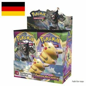 Pokemon Farbenschock Display 36 Booster Box Vivid Voltage NEU OVP Deutsch  - ✅