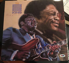 B.B. KING SIGNED King of the Blues 1989 RECORD LP GREAT ITEM IN PERSON PSA/DNA