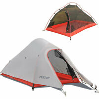 Ultralight Double Layer Camping Tent 4 Season 1 2 Person Backpacking Hiking Tent
