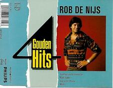 ROB DE NIJS - 4 Gouden Hits CD SINGLE 4TR (PHILIPS) 1989 Malle Babbe Holland