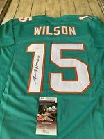 Albert Wilson Autographed/Signed Jersey JSA COA Miami Dolphins
