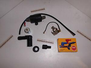 Kreidler Foil K54 Lf Ignition Repair Set Circuit Breaker Ignition Coil Etc. New