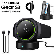 For Samsung Gear S2/S3 Frontier/Classic Qi Wireless Charging Dock Cradle Charger