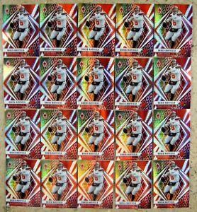 Baker Mayfield 2020 Panini Fire Burst Prizm #58 Pack Fresh 20ct Card Lot