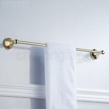 Polished Golden Single Towel Bars Wall Mount Towel Rack Bathroom Towel Holders