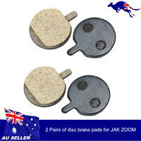 2Pairs Durable Bicycle Bike Cycling MTB Resin Disc Brake Pads for JAK ZOOM New