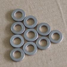 Lot50 M6 Titanium Ti TA2 Spacer Washers Flat Gasket