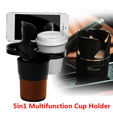 5in1 Multifunction Car Cup Holder Phone Glasses Bottle Holder Storage Organizer