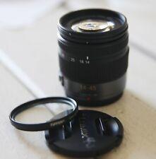 Panasonic Lumix G Vario 14-45mm f/3.5-5.6 ASPH / MEGA O.I.S. Lens #H-FS014045