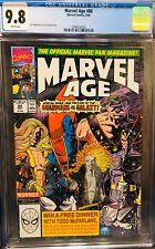 CGC 9.8 Marvel Age 88 B4 GOTG #1 1st Full Future GOTG & Taserface + Newsstand