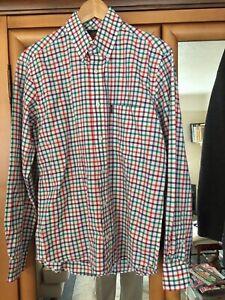 Viyella Cotton/linen Shirt SzM
