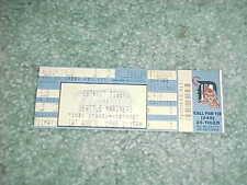 1989 Seattle Mariners v Detroit Tigers Baseball Ticket Griffey Hit Martinez HR