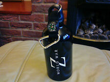 World War Z Survival Kit Metal Flask Bottle with Compass