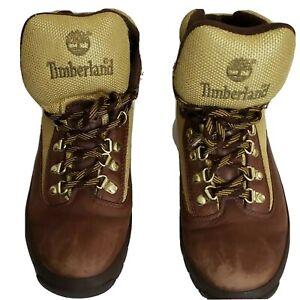 Timberland Mens Chocorua Brown/Green Hiking Boots Size 9 M