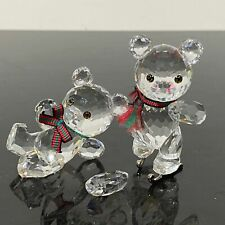 New ListingSwarovski 2pc Kris Bears Crystal Figurines