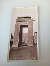 Lehnert & Landrock Cairo Karnak Portal of Euergetes I original photogravure