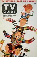 TV Guide 1953 I Love Lucy Lucille Ball & Baby Arthur Godfrey Desi EX #3 COA