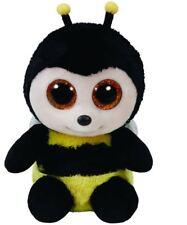 Buzby Bee - Ty Beanie Boos 6 inch - TY Boo Plush Teddy - Brand New Soft Toys
