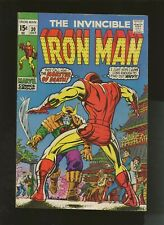 Iron Man 30 VG+ 4.5 * 1 Book Lot * Menace of the Monster Master! Don Heck!