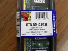 256MB (2x128) Kingston KTD-DM133/128 128MB Modules, Dell 311-7001 !! NEW !!  F36