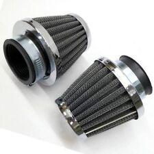 2PCS Air Filter Pod For Kawasaki GPZ KZ900 KZ1000 Suzuki GS750 GS1000 42mm