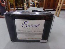Sound Sleeping Black Luxurious 1800 Count Series Cal King Sheet Set New