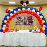 Balloon Arch Column Stand Base Frame Kit Kids Birthday Wedding Party Decor