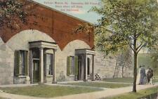 Antique POSTCARD c1907-09 Casemates Old Prison House FORTRESS MONROE, VA 18622