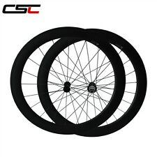 CSC Only 1640g 25mm width 60mm Clincher carbon road bike wheels carbon wheels