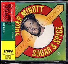 Sugar Minott Sugar & Spice Japan CD w/obi CRCJ-3007