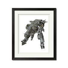Metal Gear Rex Guns Of The Patriots Poster Print