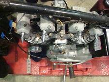 4 HARLEY SPORTSTER IRONHEAD CHROME SPIKE ROCKER SHAFT END NUTS chopper bobber