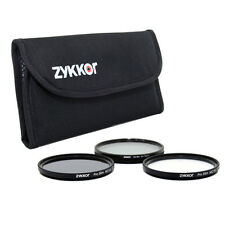 Slim 55mm Pro Filter Kit UV CPL ND4 ND 0.6 for Sony Alpha A300, A330, A500, A550