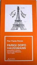 PARIGI DOPO HAUSSMANN URBANISTICA E POLITICA ALLA FINE DELL'OTTOCENTO 1871-1900
